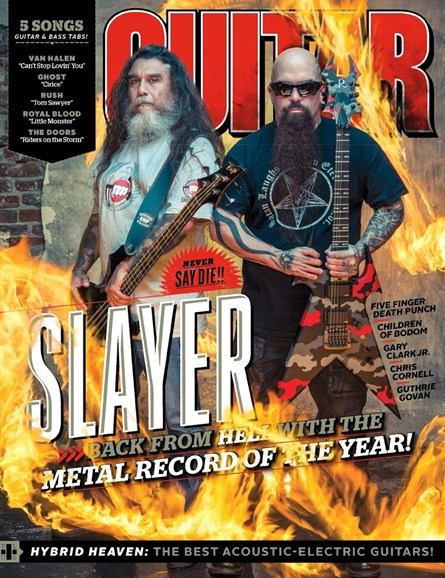 Guitar World Cover - 11/1/2015