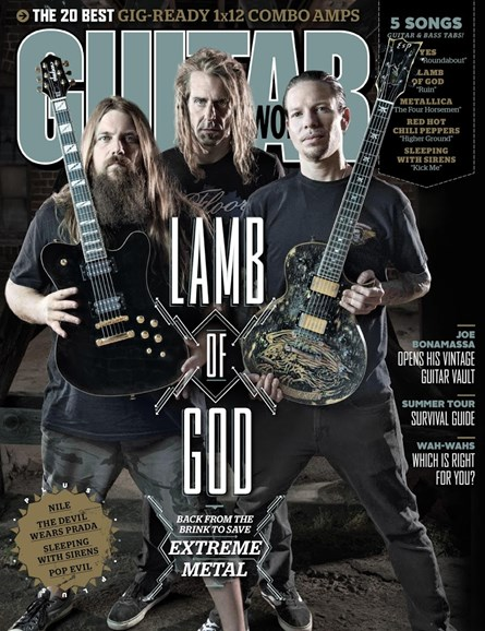 Guitar World Cover - 10/1/2015