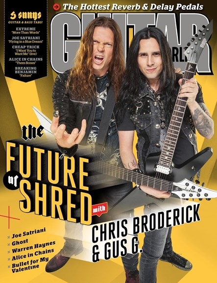 Guitar World Cover - 9/1/2015