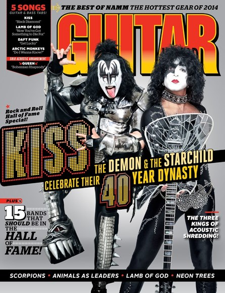 Guitar World Cover - 4/1/2014