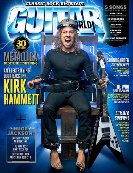Guitar World Cover - 8/1/2014