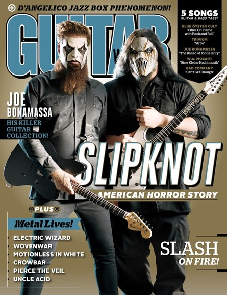 Guitar World Cover - 12/1/2014