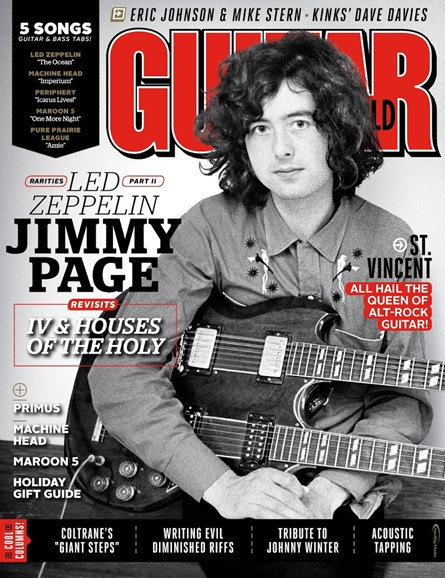 Guitar World Cover - 12/25/2014