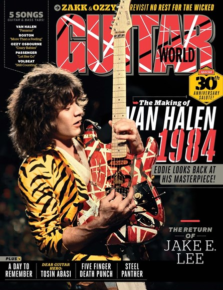 Guitar World Cover - 2/1/2014