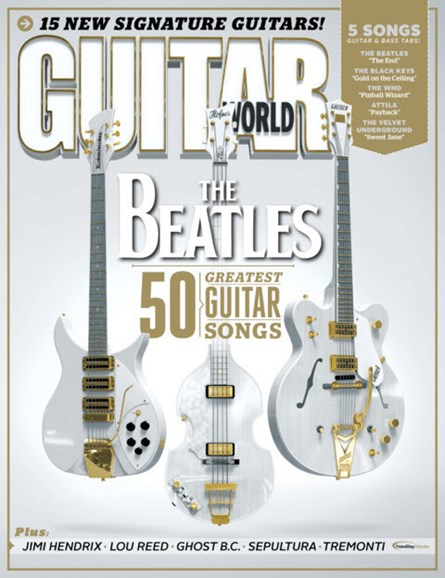 Guitar World Cover - 1/1/2014