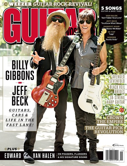 Guitar World Cover - 11/1/2014