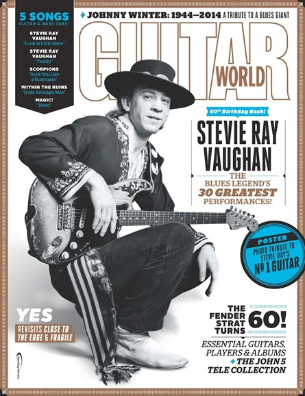 Guitar World Cover - 10/1/2014