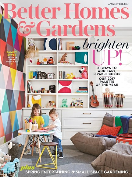 Better Homes & Gardens Cover - 4/1/2017