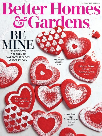 Better Homes & Gardens Cover - 2/1/2017