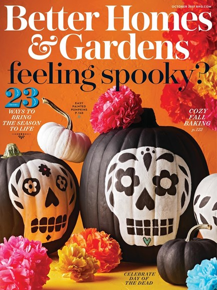 Better Homes & Gardens Cover - 10/1/2017