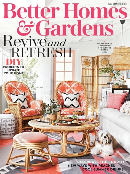 Better Homes & Gardens Cover - 7/1/2017