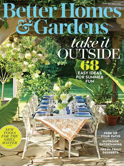 Better Homes & Gardens Cover - 6/1/2017