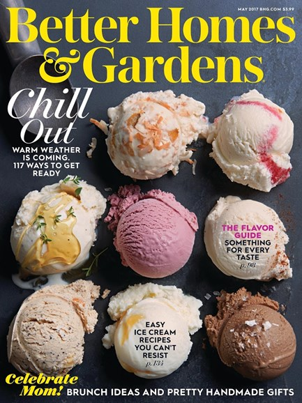 Better Homes & Gardens Cover - 5/1/2017
