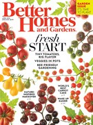 Better Homes & Gardens Magazine 4/1/2016