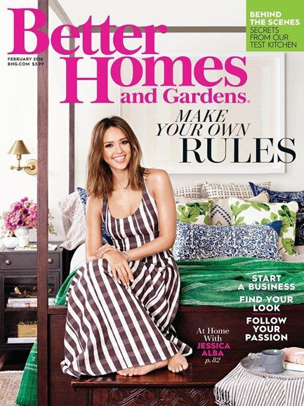 Better Homes & Gardens Cover - 2/1/2016