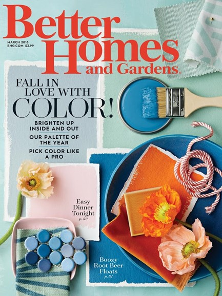 Better Homes & Gardens Cover - 3/1/2016