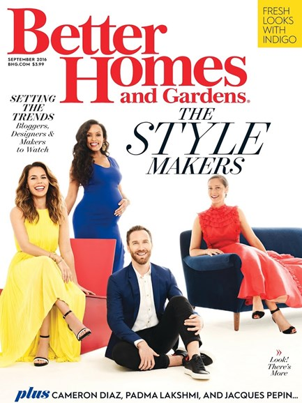 Better Homes & Gardens Cover - 9/1/2016