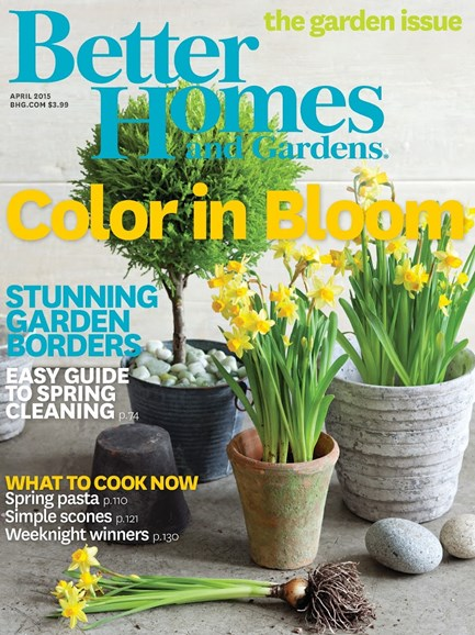 Better Homes & Gardens Cover - 4/1/2015
