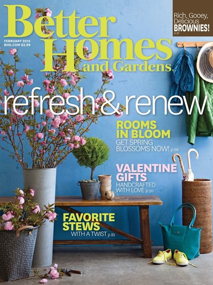 Better Homes & Gardens Cover - 2/1/2015
