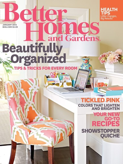 Better Homes & Gardens Cover - 1/1/2015