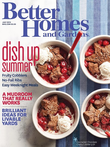 Better Homes & Gardens Cover - 7/1/2015