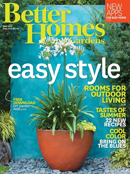 Better Homes & Gardens Cover - 5/1/2015