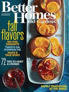 Better Homes & Gardens Magazine 11/1/2015