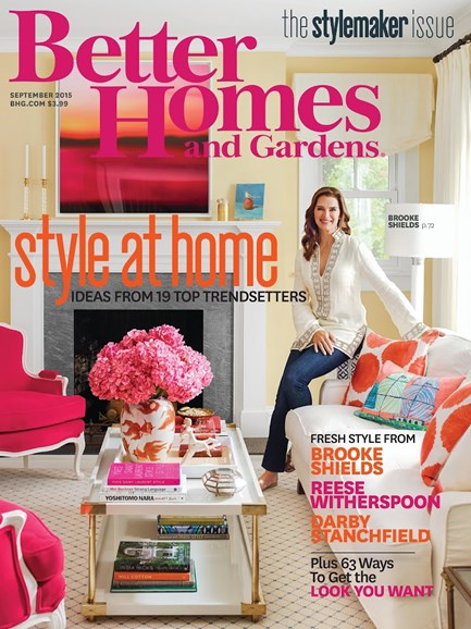 Better Homes & Gardens Cover - 9/1/2015