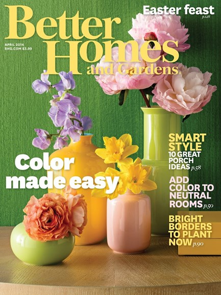 Better Homes & Gardens Cover - 4/1/2014