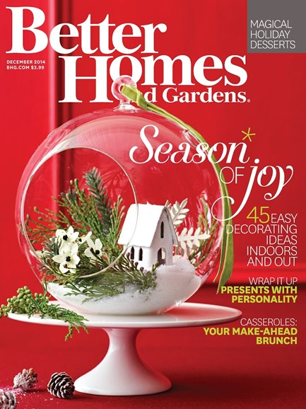 Better Homes & Gardens Cover - 12/1/2014