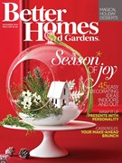 Better Homes & Gardens Magazine 12/1/2014