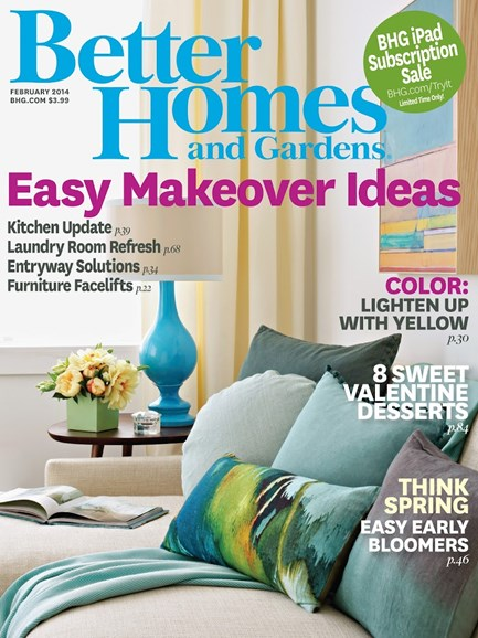 Better Homes & Gardens Cover - 2/1/2014