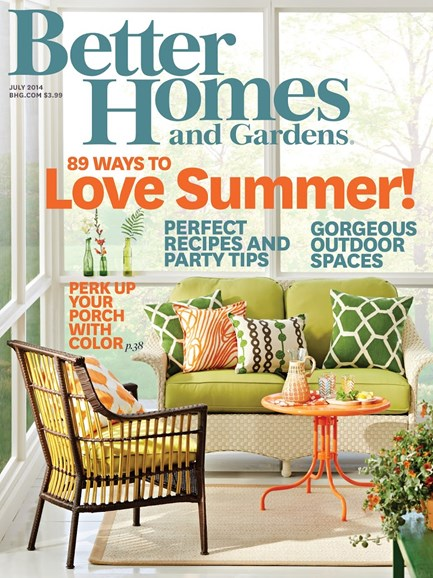 Better Homes & Gardens Cover - 7/1/2014