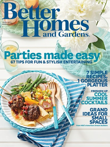Better Homes & Gardens Cover - 6/1/2014