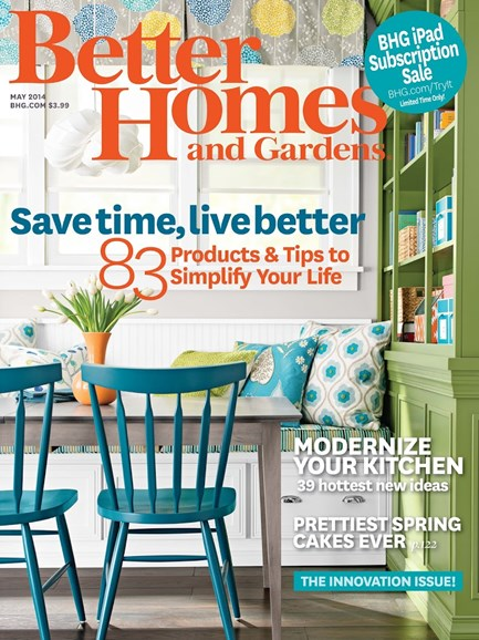 Better Homes & Gardens Cover - 5/1/2014