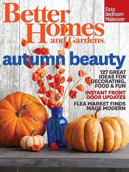 Better Homes & Gardens Cover - 10/1/2014