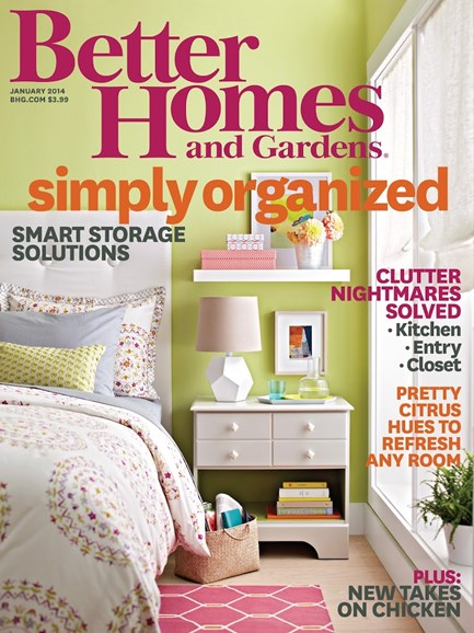 Better Homes & Gardens Cover - 1/1/2014
