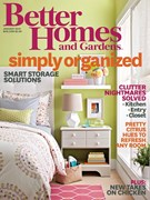 Better Homes & Gardens Magazine 1/1/2014