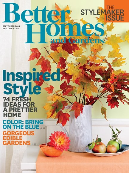 Better Homes & Gardens Cover - 9/1/2014