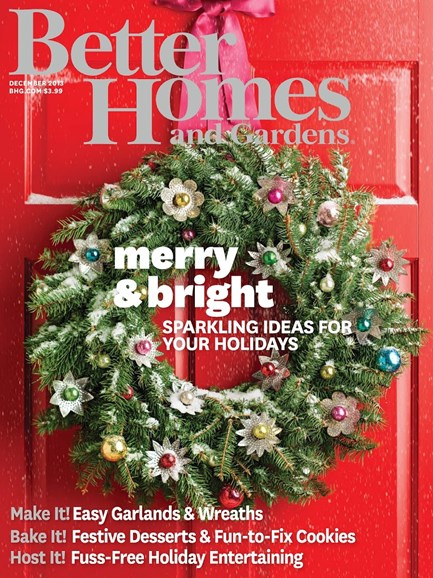 Better Homes & Gardens Cover - 12/1/2013