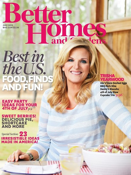 Better Homes & Gardens Cover - 7/1/2013