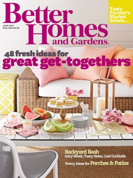 Better Homes & Gardens Cover - 6/1/2013