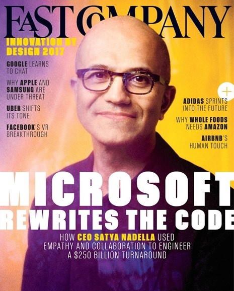 Fast Company Cover - 10/1/2017