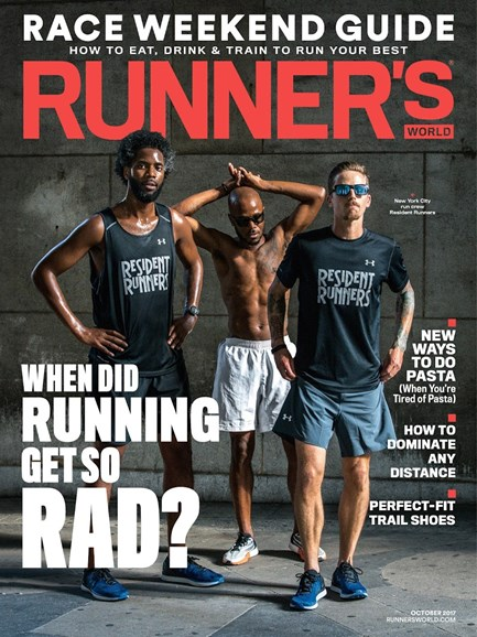 Runner's World Cover - 10/1/2017
