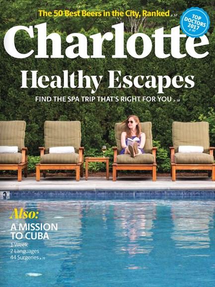 Charlotte Magazine Cover - 7/1/2017