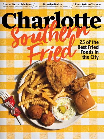 Charlotte Magazine Cover - 6/1/2017