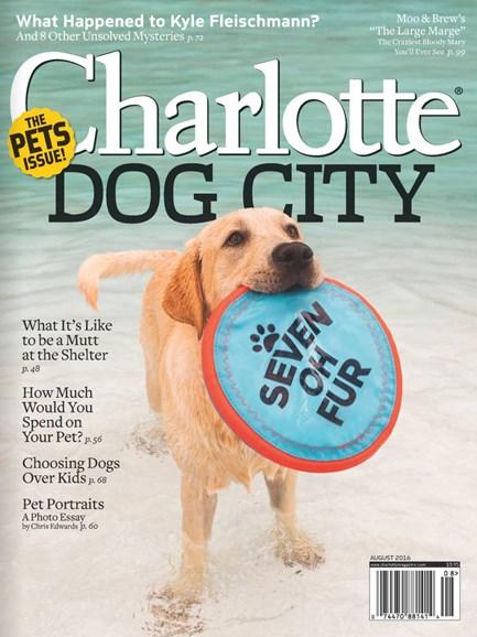 Charlotte Magazine Cover - 8/1/2016