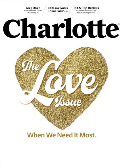 Charlotte Magazine Cover - 11/1/2016