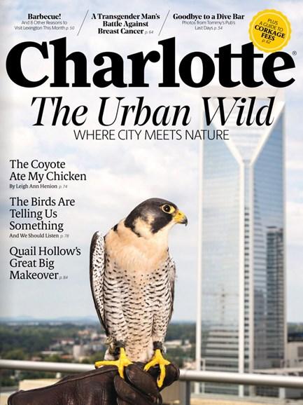 Charlotte Magazine Cover - 10/1/2016