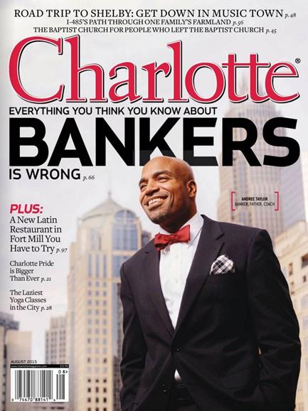 Charlotte Magazine Cover - 8/1/2015
